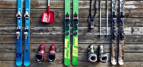 Transportare gratuită a echipamentelor ski la c...