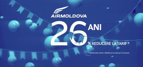 Air Moldova – de 26 de ani împreună!