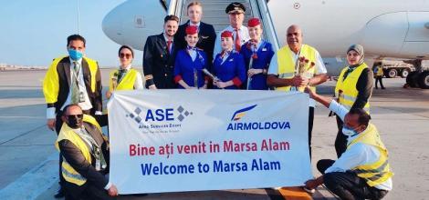 Air Moldova zboară la Marsa Alam, Egipt