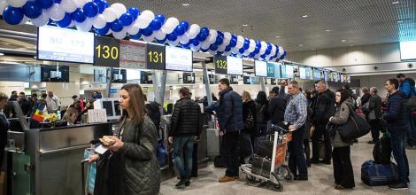 Air Moldova sărbătoreşte 15 ani de operare a zb...
