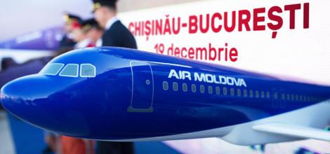 Relansarea cursei aeriene Chişinău-Bucureşti-Ch...