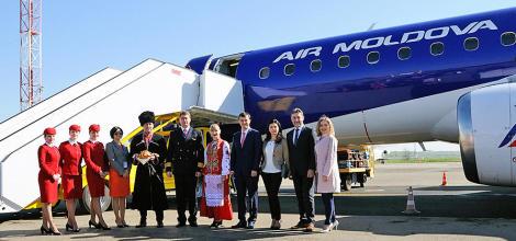 O nouă cursă directă de la Air Moldova: Chișină...