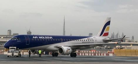 Cursa Chișinău –Dubai a fost lansată cu succes