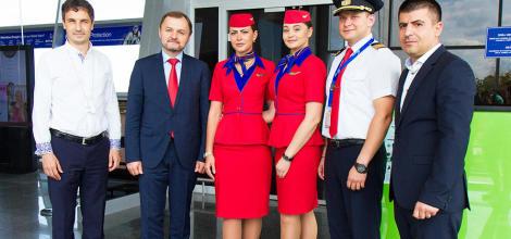 Air Moldova a relansat cursa Chişinău-Kiev